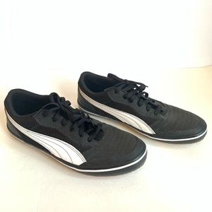 PUMA Men's Astro Sala Black & White Sneakers